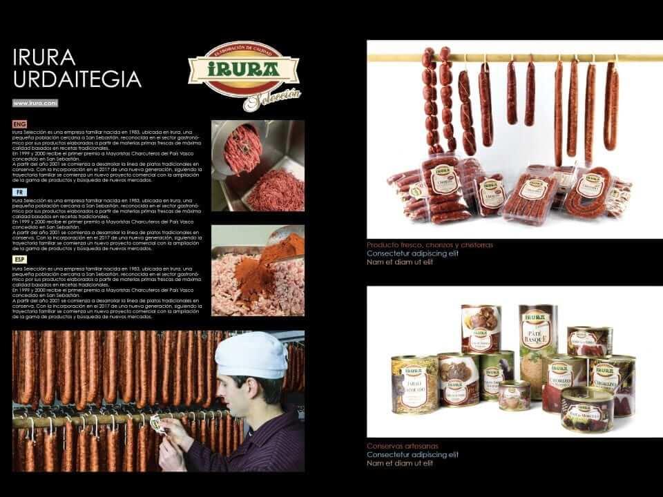 Basque eat - Irura selección