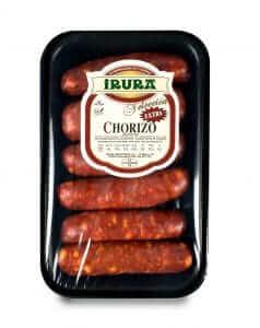 Chorizo Gourmet para pincho 6 unidades Irura Selección