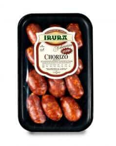 Chorizo Gourmet para pincho 12 unidades Irura Selección