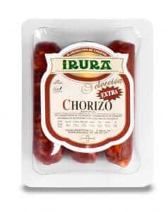 Pack de chorizo extra natural 3 ud. Irura Selección