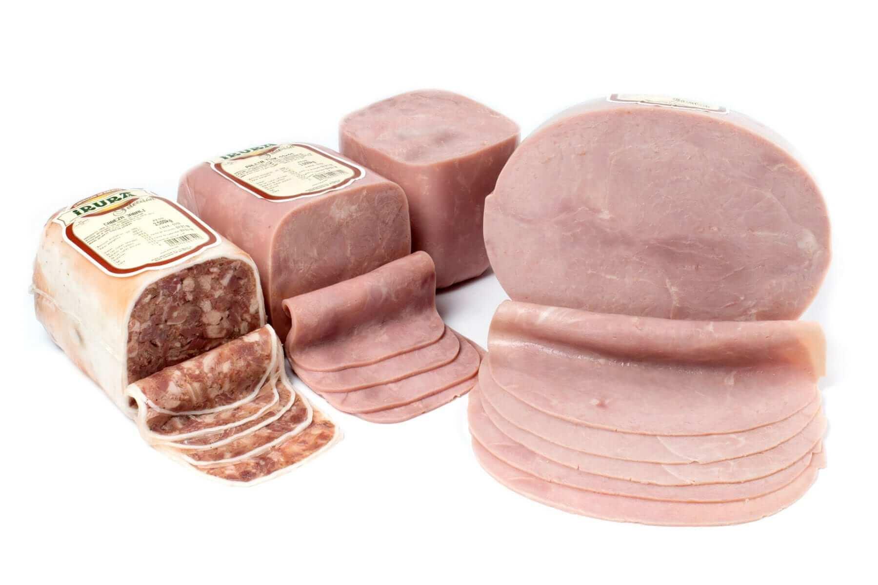Productos cárnicos cocidos Irura Selección