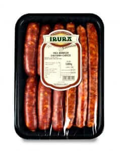 Pack de carnes Gourmet para barbacoa: chistorras y chorizos G